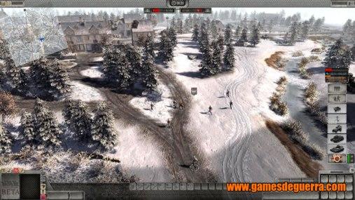 Mapas em Men of War: Assault Squad 2 são muito bem trabalhados