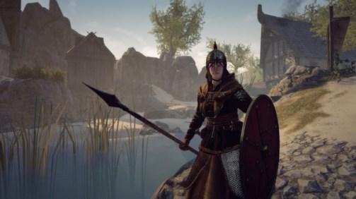 Personagem mulher em War of the Viking