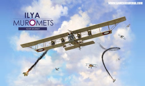 Novo simulador de voo da Primeira Guerra Mundial - Ilya Muromets