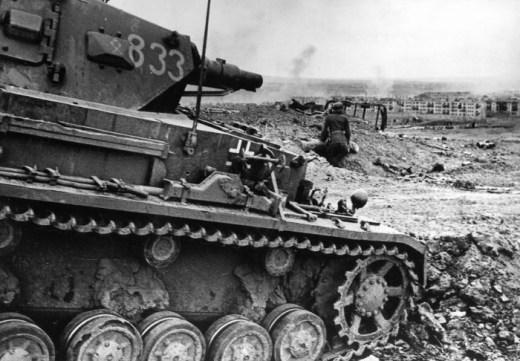 Panzer IV Ausf.D perto das proximidades de Stalingrado.