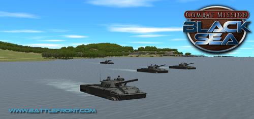 Tank anfíbio em CM: Black Sea
