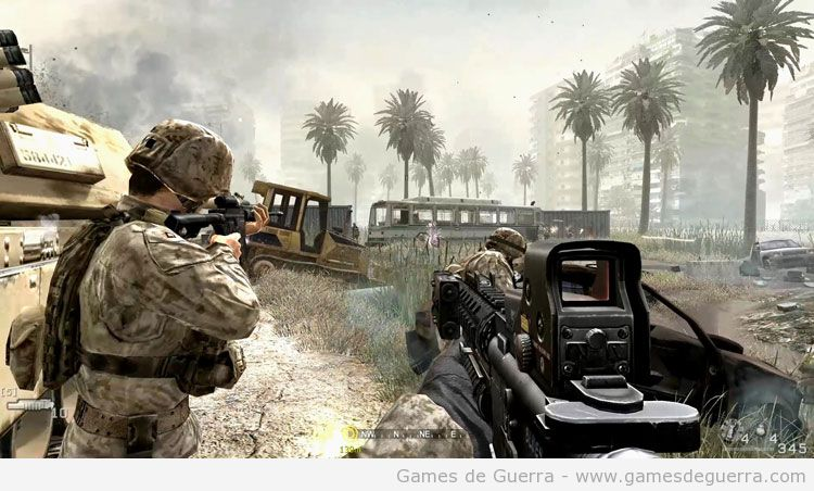 jogos para pc fraco de guerra - Call of duty: modern warfare 4