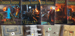 DFRPG components