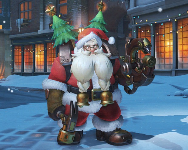 Overwatchs Holiday Event Has Arrived With New Skins A