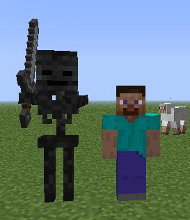 Minecraft 1.4.2 Esqueleto wither