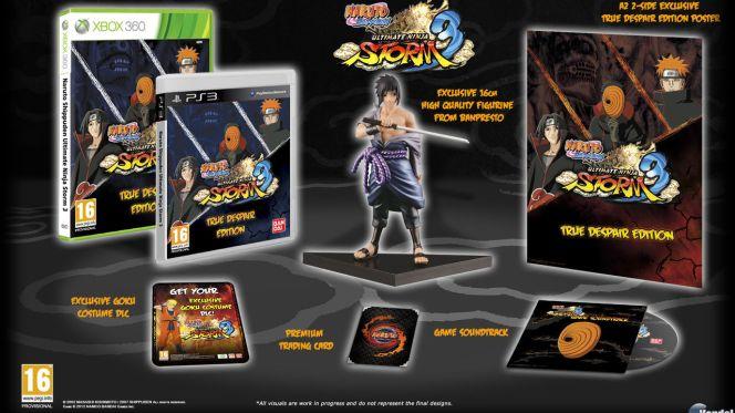 Naruto Shippuden: Ultimate Ninja Storm 3 Edición True Despair