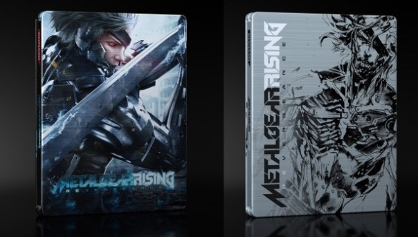 Metal Gear Solid: Rising Carátulas
