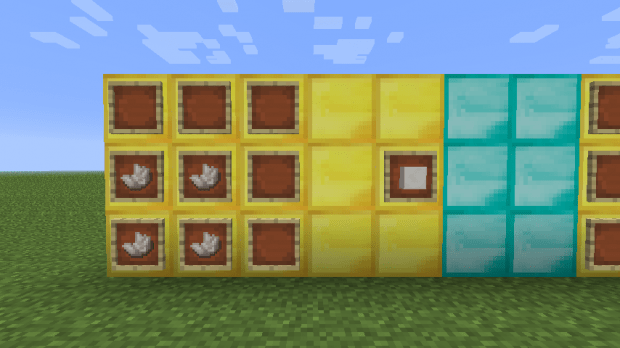 Crafteo Bloque de cuarzo Minecraft 1.5