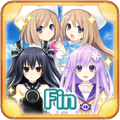 Hyperdimension Neptunia Re;Birth 2: Sisters Generation Holy Sword Ending