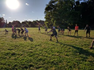 Games Fitness Boot Camp Game: Hold the Line