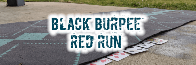 Black Burpee Red Run