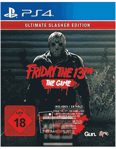 Friday the 13th PS-4 GOTY Ultimate Slasher Edition