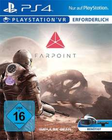 VR Farpoint DISC USK PS4