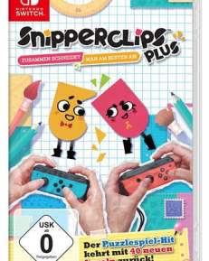 Snipperclips Plus CARD USK Switch