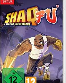 Shaq Fu CARD USK Switch