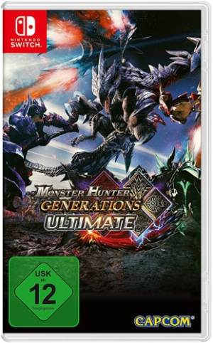 Monster Hunter Generations CARD UK multi Switch