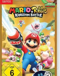 Mario & Rabbids GOLD CARD USK Switch