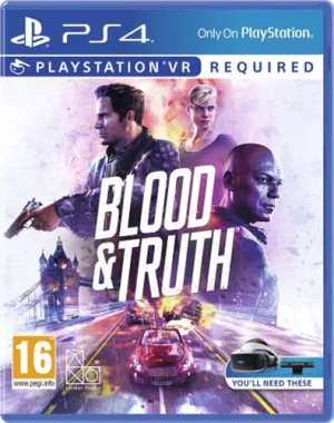 VR Blood & Truth  PS-4  AT