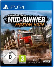 MudRunner American Wilds DISC USK PS4