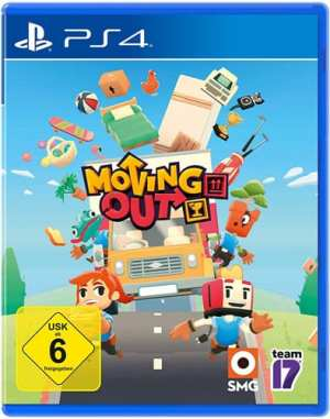 Moving Out DISC USK PS4