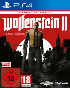 Wolfenstein 2 New Col. PS-4  UNCUT  eng New Colossus internationale Version