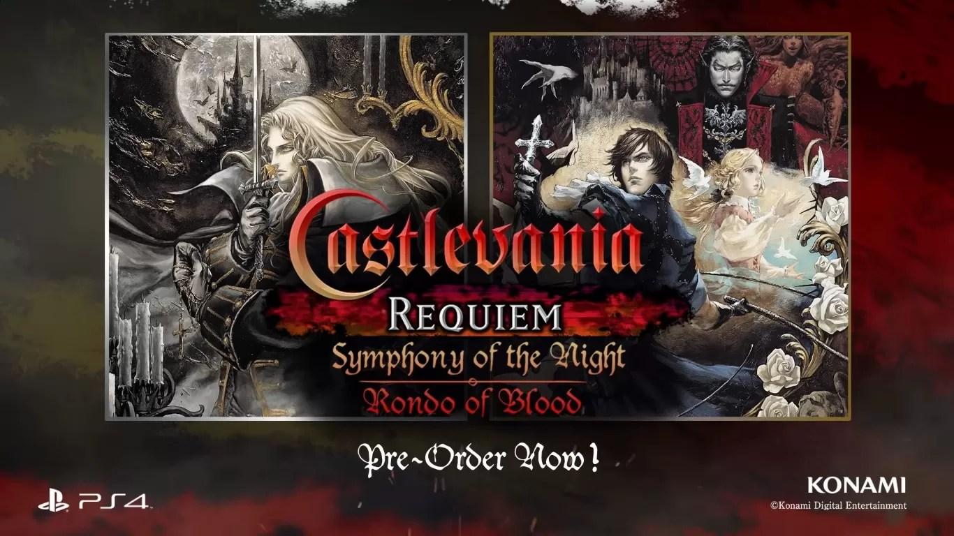 Castlevania Requiem Symphony Of The Night Rondo Of Blood