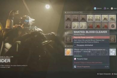Destiny 2 Forsaken Ghost Fragments Guide