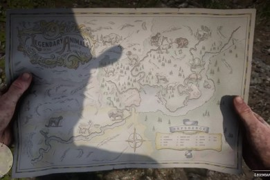 Red Dead Redemption 2 Legendary Animals Locations Guide