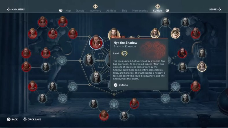 Assassin S Creed Odyssey Cult Of Kosmos Guide All Cultist