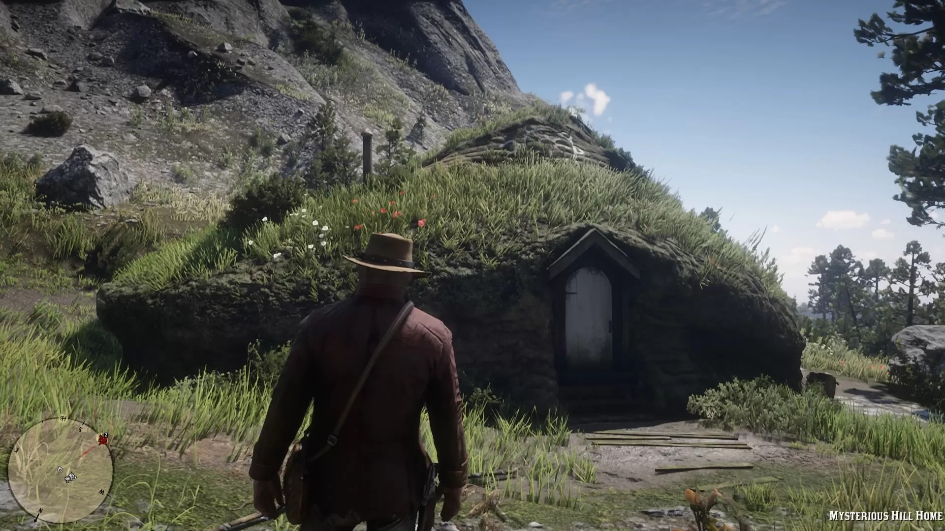 red dead redemption 2 mysterious hill home