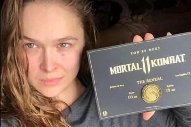 Ronda Rousey Mortal Kombat