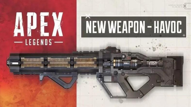 Apex Legends Havoc Weapon