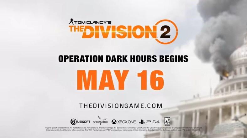 The Division 2 Raid Operation Dark Hours