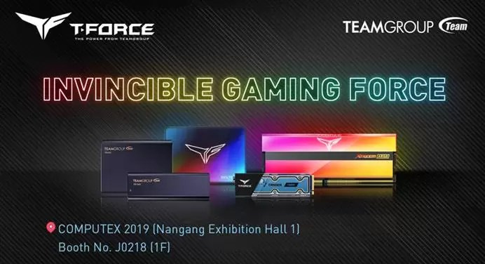 T-FORCE Computex 2019