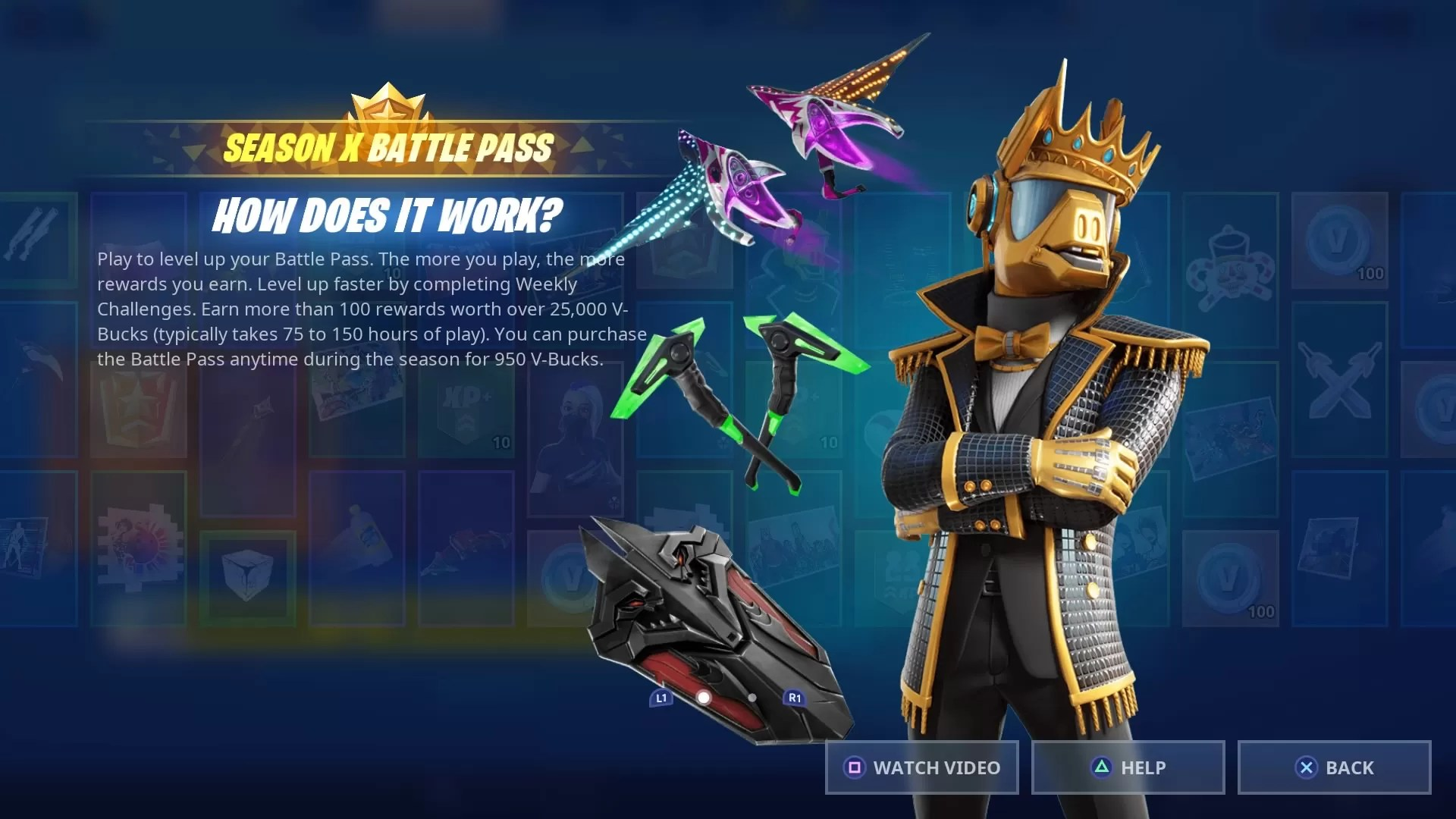 Fortnite Season X Battle Pass Gameshedge