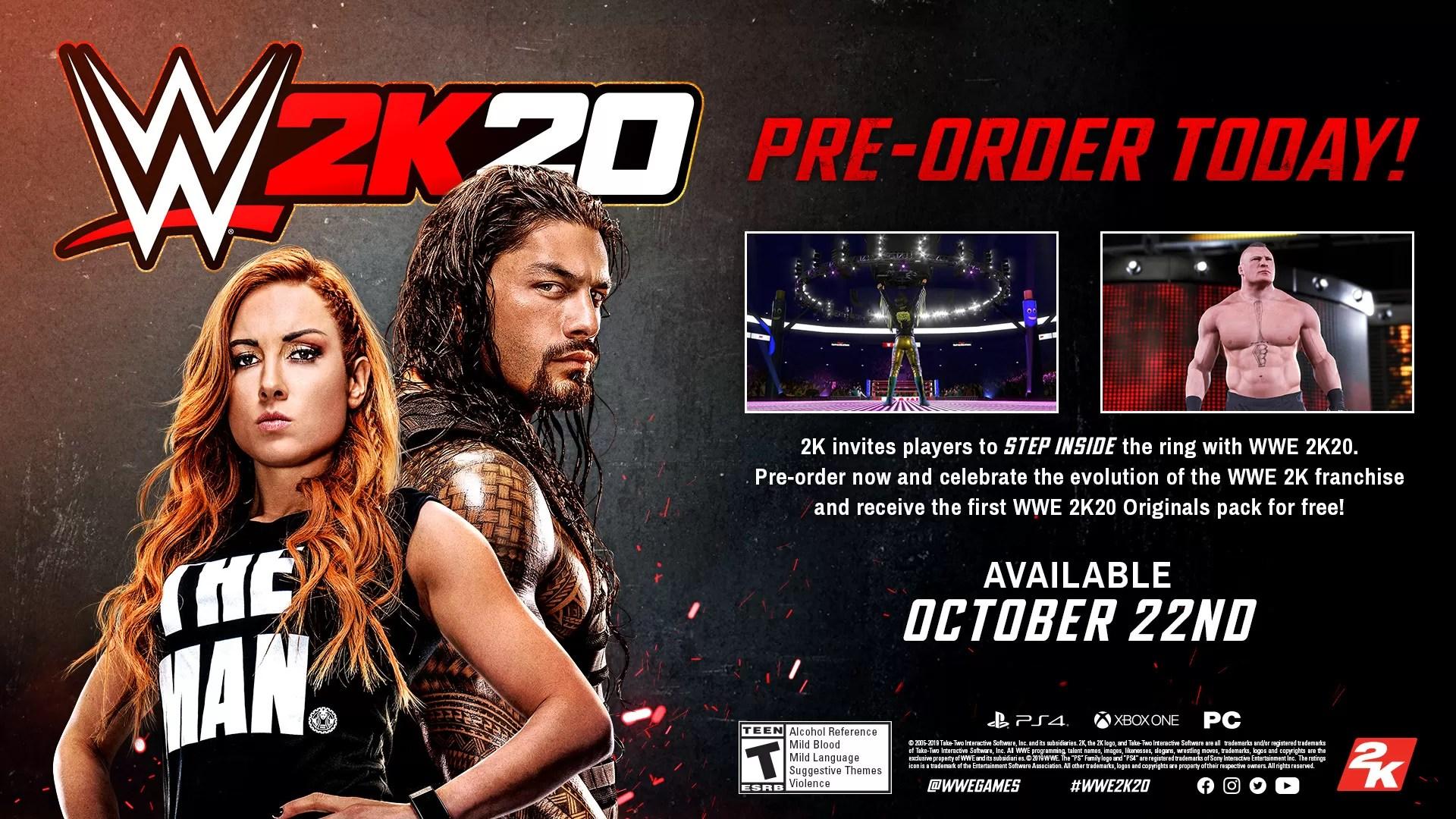 WWE2k20 - GamesHedge