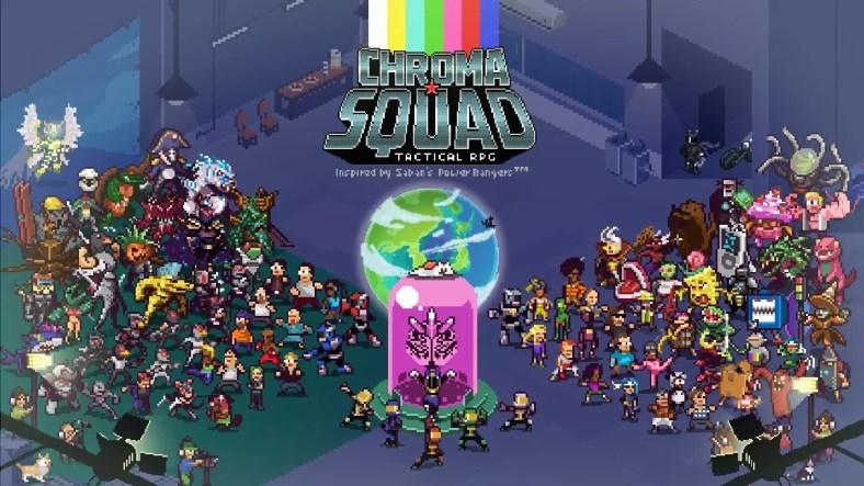 Chroma Squad Fisik