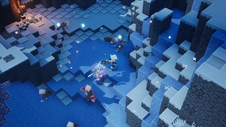 Panduan Artefak Musim Dingin Minecraft Dungeons Creeping