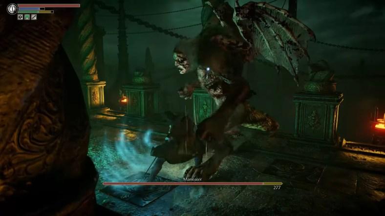 Panduan Pertempuran Bos Demons Souls Maneater