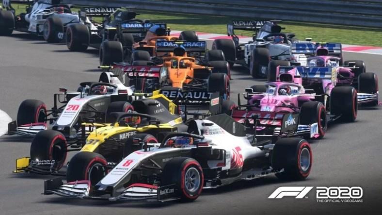 Uji Coba Gratis F1 2020