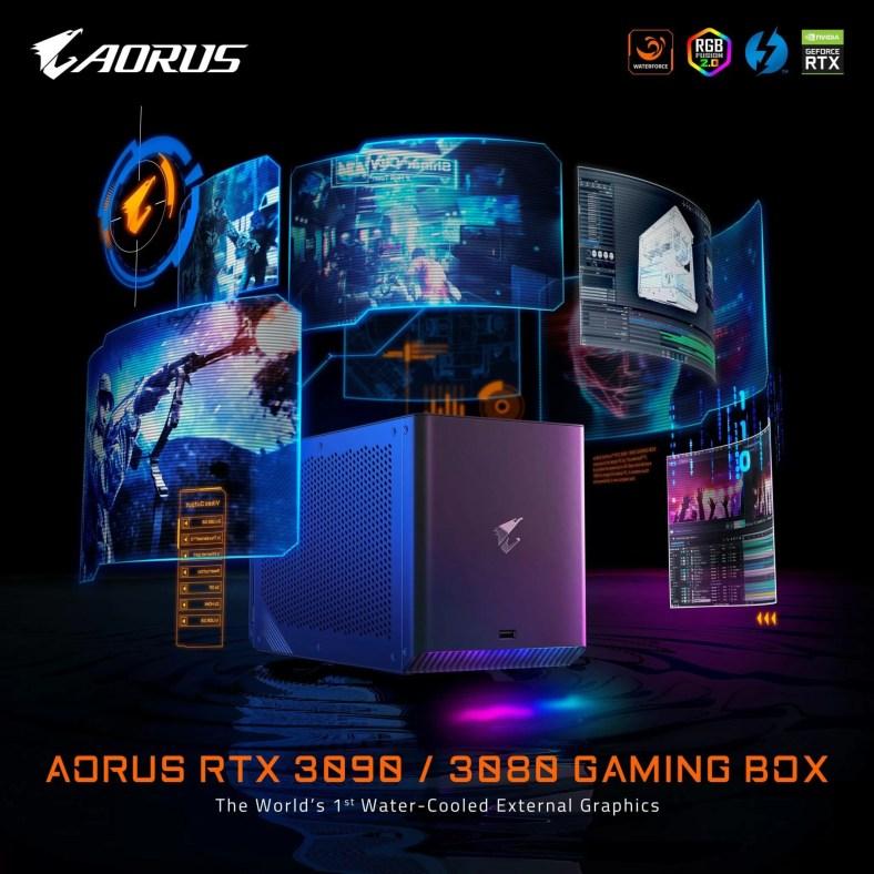 Kotak Gaming Aorus RTX