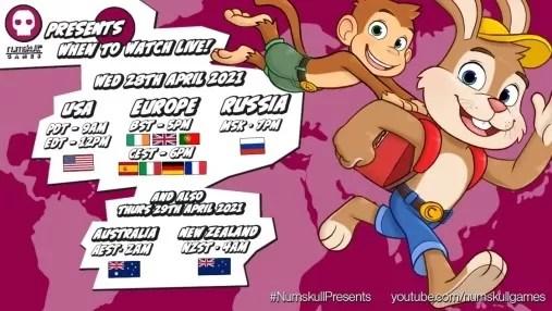 Numskull Games Mempersembahkan April