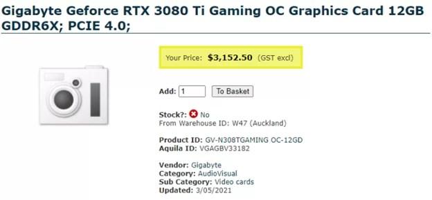 RTX 3080 Ti khusus