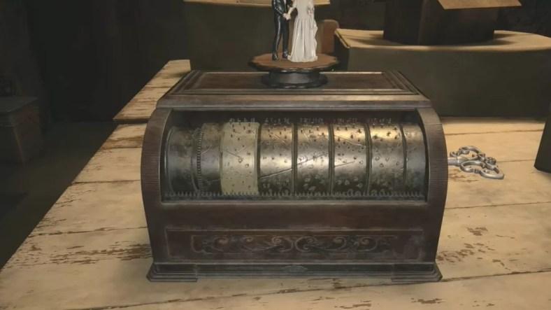 Cara Memecahkan Puzzle Kotak Musik di Desa Resident Evil 8