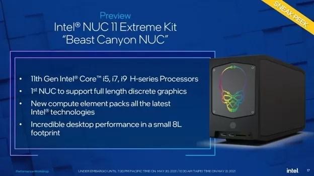 Intel Beast Canyon NUC