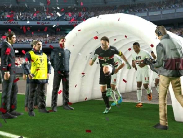 4. Pro Evolution Soccer 2014