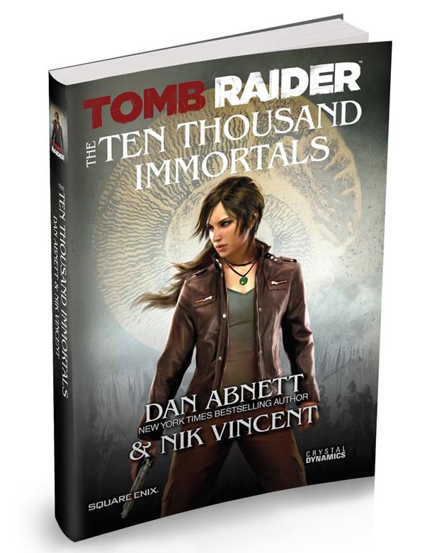 Lara Croft Tomb Raider Novel