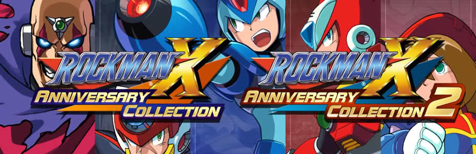 Mega Man X Collection: trailer japonês e data