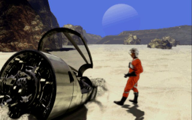 Retro Live ! – Rebel Assault II : The Hidden Empire (PC)