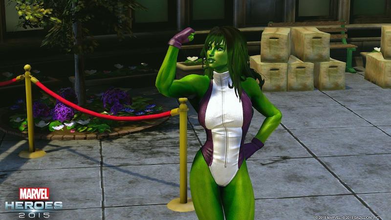 Marvel Heroes : She-Hulk